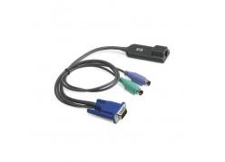 KVM Кабель HP RJ45 - Video&2xPS/2 50cm+60cm 262587-B21 фото