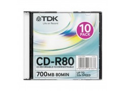 TDK CD-R80 700 MB 52x фото