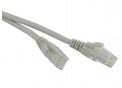 Патч-корд Hyperline PC-LPM-UTP-RJ45-RJ45-C5e-5M-GY серый фото
